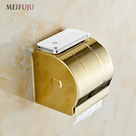 Luxury Golden/Stainless Steel Tissue Holder