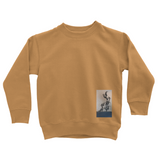 Crew neck sweatshirt. Set-in sleeves. Taped neck. Stylish fit. Soft cotton faced fabric with twin needle stitching detailing. Ribbed collar, cuffs and hem.