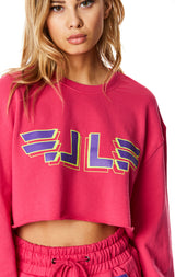 240 CROPPED PULLOVER SWEATSHIRT
