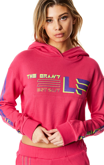240 CROPPED PULLOVER HOODIE