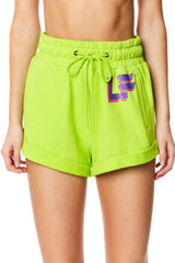 HIGH-RISE SWEAT SHORT
