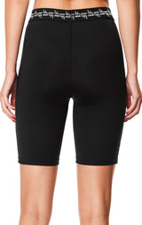 BRANDED WAISTBAND BIKE SHORT