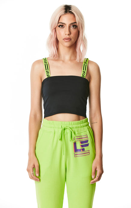 DIGITAL NEON TANK WITH LF STRAPS
