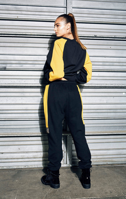 SWEATPANT WITH COLORBLOCK HIP
