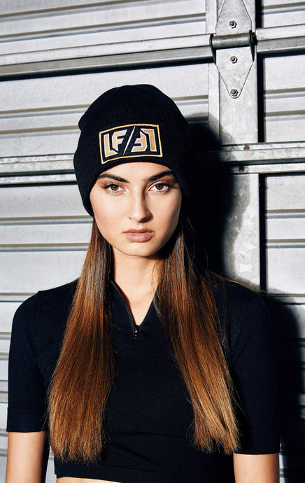 BEANIE WITH LF PATCH