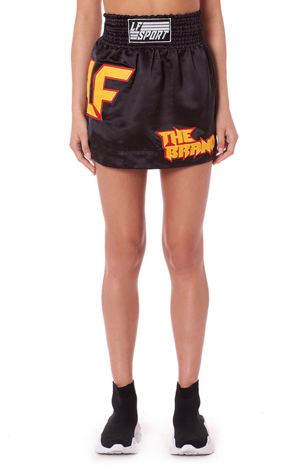 BOXER SKIRT WITH LF THE BRAND PATCH