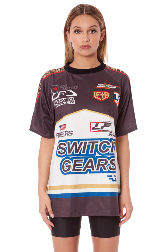 MOTOSPORT SHORT SLEEVE SWITCH GEARS SHIRT