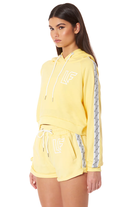 TRACKER CROPPED HOODIE