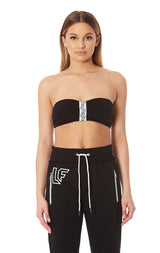 CINCHED TUBE TOP WITH LF TAPE