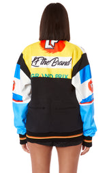SCREEN PRINTED MOTOR CROSS HAMILTON JACKET