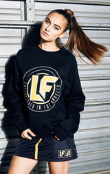 LONG SLEEVE PULLOVER WITH LF CIRCLE LOGO
