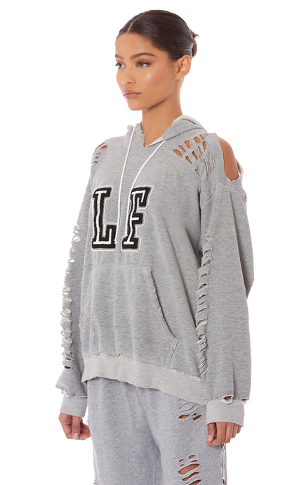 SHREDDED LF SWEATSHIRT