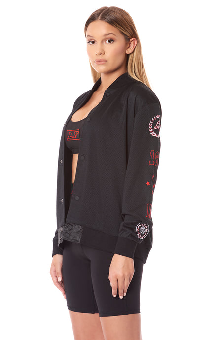 TEAM LF ATHLETIC MESH BASEBALL JACKET
