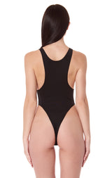 NIGHT RIDER BUCKLE STRAP BODYSUIT