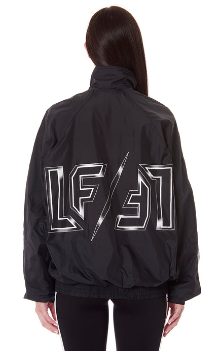 NIGHT RIDER WINDBREAKER WITH LF TAPE AND LOGO