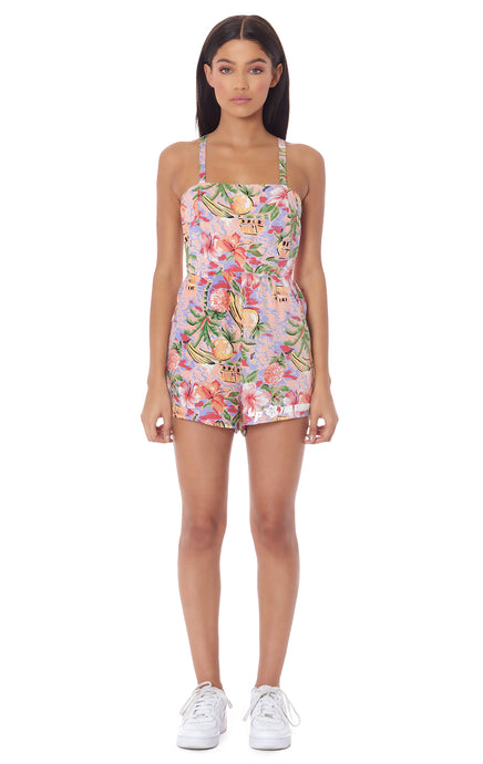 PARADISE NIGHT PLAYSUIT