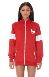 TRACK JACKET WITH LF TAPE ON SHOULDER