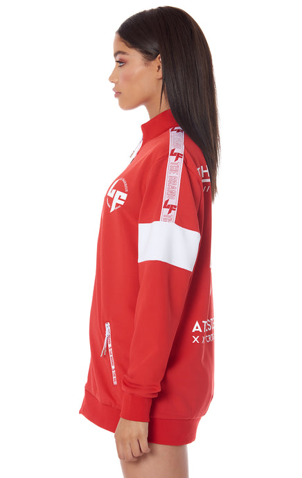 ATHLEISURE EDIT TRACK JACKET