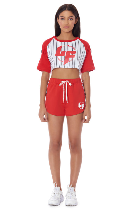 ATHLEISURE EDIT DRAWSTRING SHORT WITH D-RING TAPE