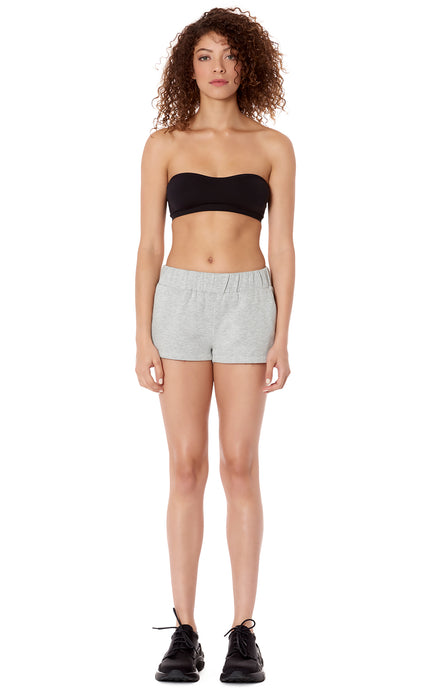 SWEAT SHORT WITH LF TAPE