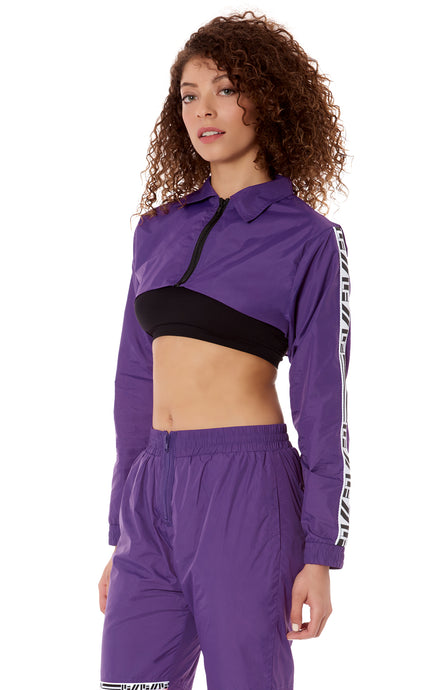 SUPER CROP WINDBREAKER WITH LF TAPE
