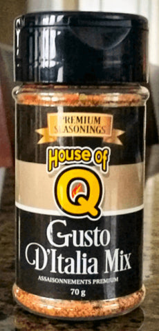 House of Q - Gusto D'Italia Mix Seasoning (70g)