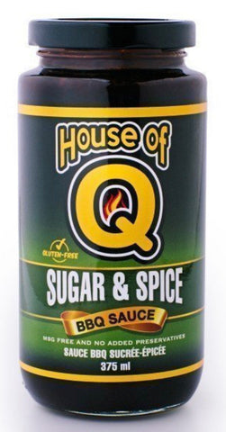 House of Q - Sugar & Spice BBQ Sauce (375ml)