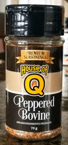 House of Q - Peppered Bovine BBQ Seasoning (70g)