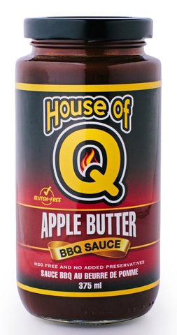 House of Q - Apple Butter BBQ Sauce (375ml)