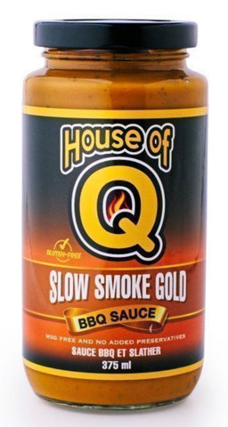 House of Q - Slow Smoke Gold BBQ Sauce (375ml)