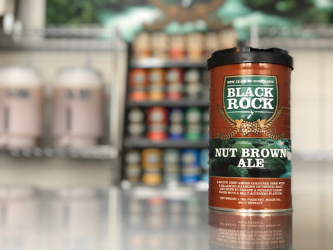 Black Rock: Nut Brown Ale - 1.7kg of Concentrated Wort