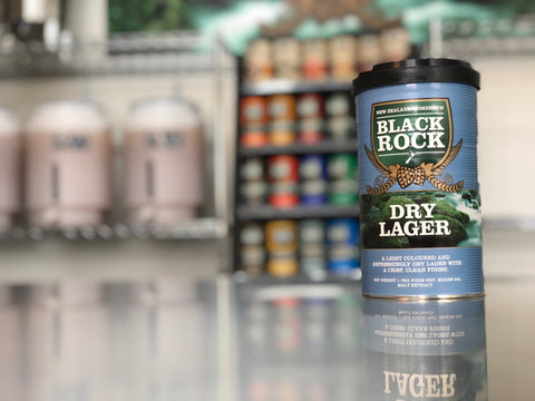 Black Rock: Dry Lager - 1.7kg of Concentrated Wort