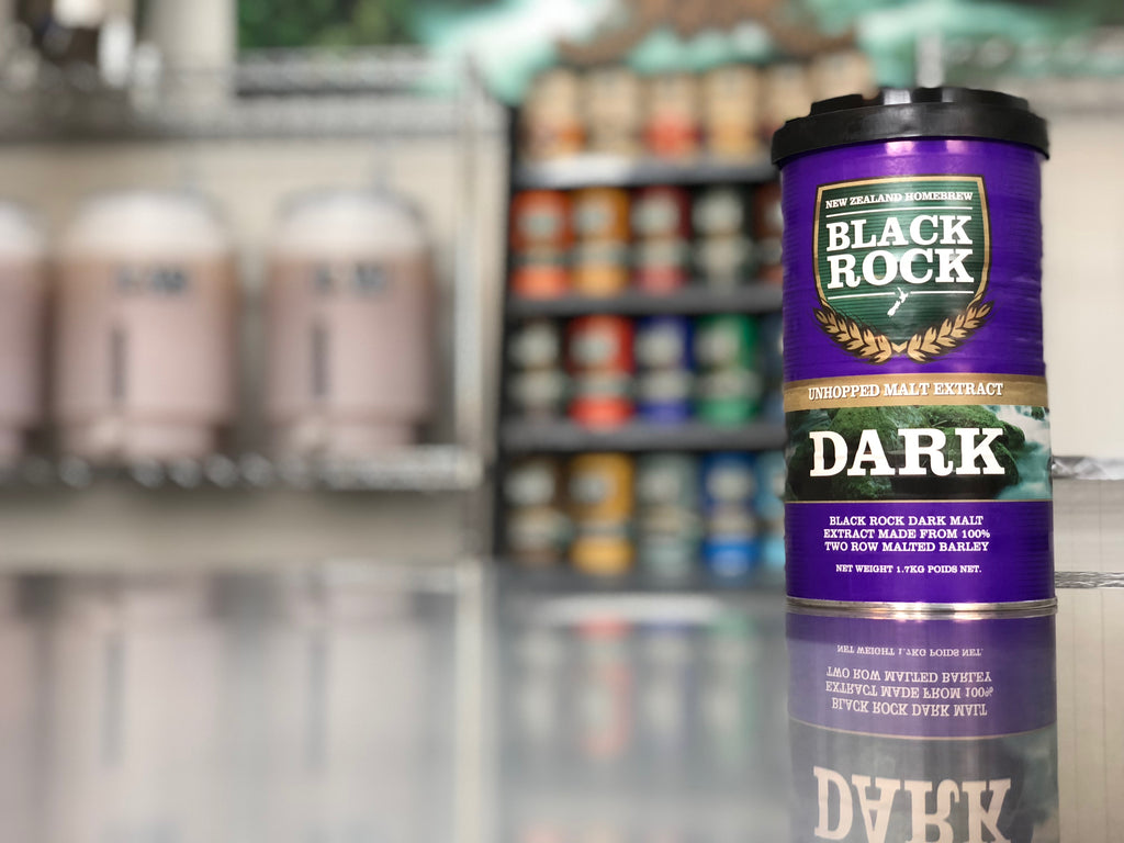 Black Rock: Unhopped Dark - 1.7kg of Concentrated Wort