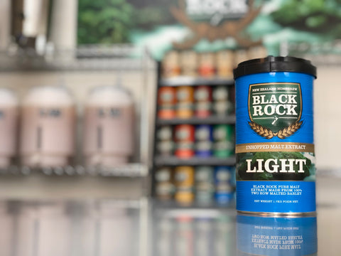 Black Rock: Unhopped Light - 1.7kg of Concentrated Wort