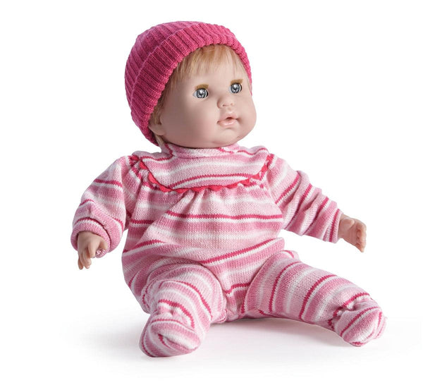 Nonis 15 Quot Soft Body Play Doll In Pink Striped Pj S With
