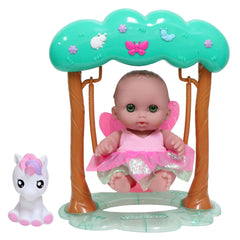 JC Toys, Fairy Swing Set featuring Lil' Cutesies 8.5