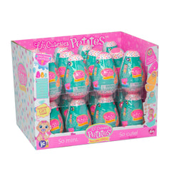 Lil' Cutesies PETITES! Collectable Surprise Dolls packaged in 3pc Nesting Doll