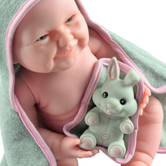 JC Toys, La Newborn Baby Doll, All Vinyl Realistic 17