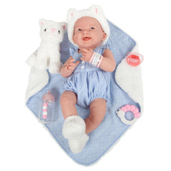 JC Toys, La Newborn All-Vinyl Real Girl 15