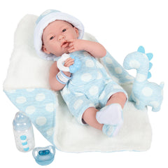 JC Toys La Newborn All-Vinyl-Anatomically Correct Real Boy 15