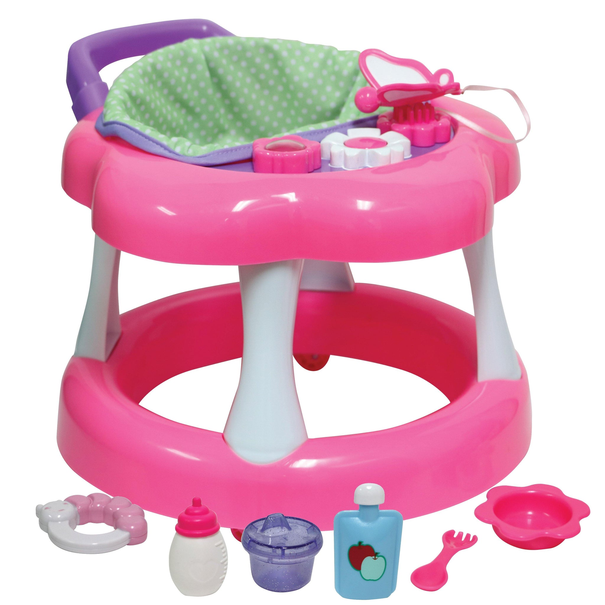 For Keeps! Baby Doll Walker with play accessory for dolls up to 16""