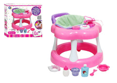 For Keeps! Baby Doll Walker with play accessory for dolls up to 16