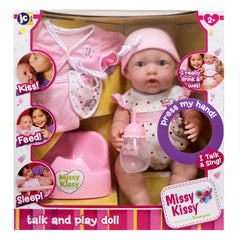 Missy Kissy Deluxe 8 Pcs Electronic Drink and Wet Set - She really Speaks!