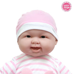 JC Toys, Lots to Cuddle Babies Soft Body Baby Doll 20 inches - Pink Outfit