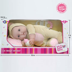 "Lots to Cuddle Babies Bed Time Friend – 15"" Soft Body Baby Doll and Accessories"