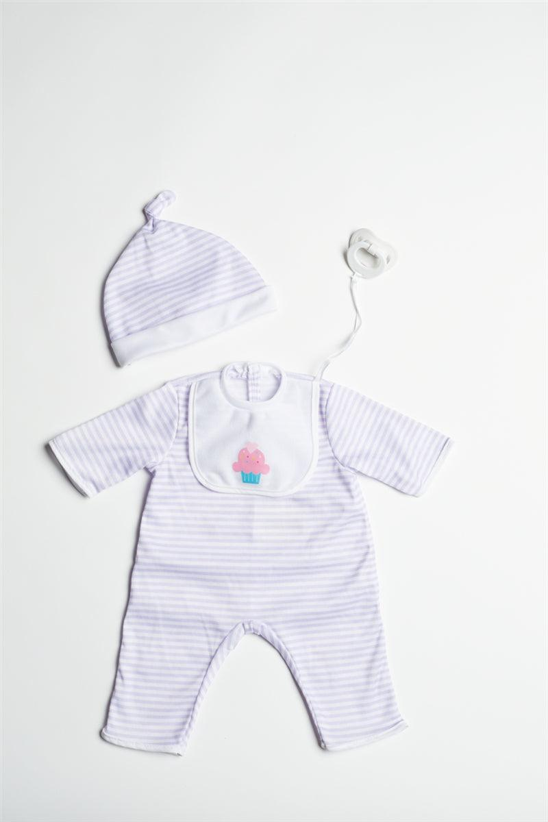 "Purple Romper for 20"" Dolls"