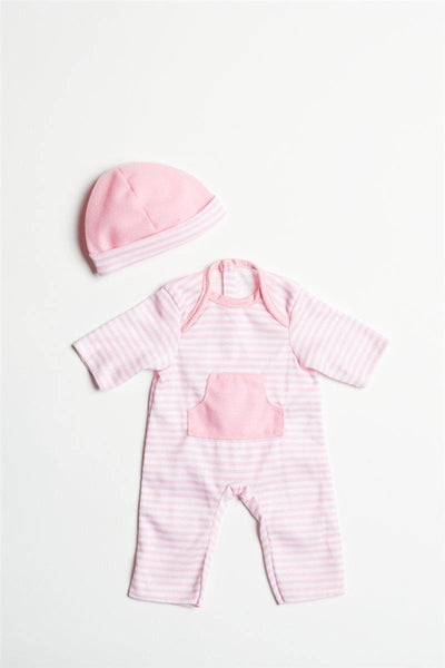 "Light Pink Romper for 13""-16"" Dolls"