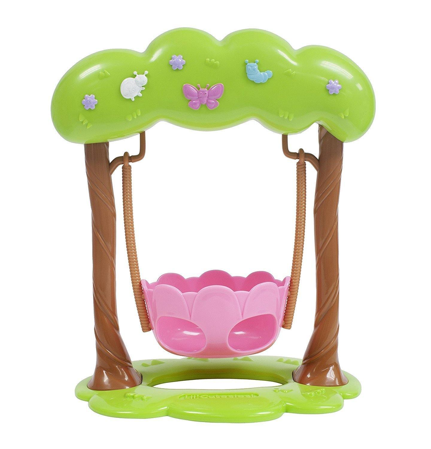 For Keeps! Lil' Cutesies Adorable Swing Fits Most Dolls Up to 11""