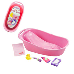 "For Keeps! Pink Baby Doll Bath Gift Set Fits Most Dolls up to 16"" - Ages 2+"