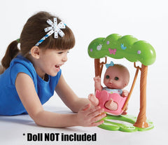 For Keeps! Lil' Cutesies Adorable Swing Fits Most Dolls Up to 11